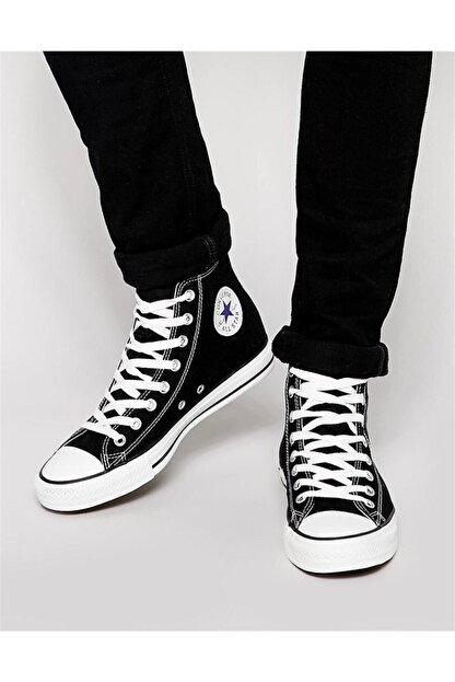 Converse Unisex Siyah Boğazlı Sneaker Ayakkabı M9160 V4