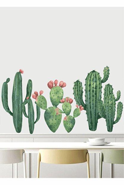 PİKSELİFE Kaktüs Duvar Stickerı