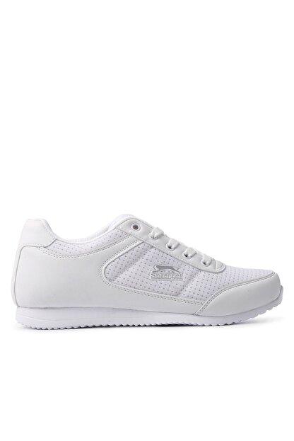 Slazenger Paloma Sneaker Kadın Ayakkabı Beyaz / Gümüş