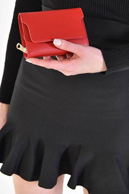 Addax Kadın Kırmızı Cüzdan Czdn50 - F7 ADX-0000019582
