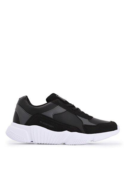 Slazenger INDIANA Sneaker Kadın Ayakkabı Siyah / Beyaz SA20RK069