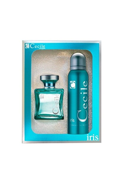 Cecile Iris Edt 100 ml 150 ml Deodorant Kadın Parfüm Seti