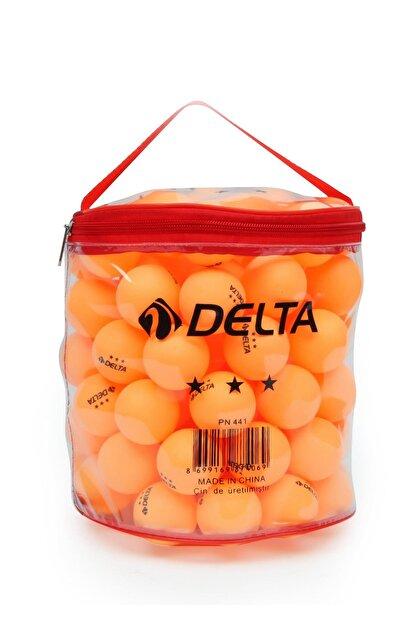 Delta Çantalı 100 adet Turuncu Masa Tenisi Topu