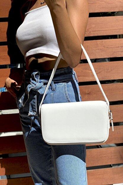 Westpolo Kadın Kapaklı Ve Mıknatıslı Baget Bella Çanta