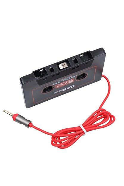 Streak Kablolu Araç Oto Teyp Kaset Adaptörü Mp3 Mp4 Cd Çalar Aux Player