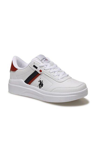 US Polo Assn BERKELEY WMN Beyaz Kadın Sneaker Ayakkabı 100604573