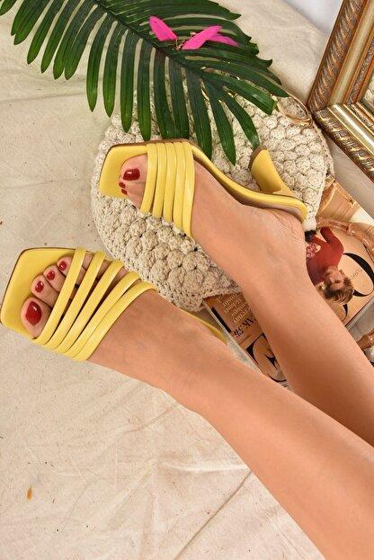 Fox Shoes Kadın SarıTerlik K494566309