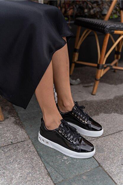 ANGELİNA JONES Gassama Siyah Sneaker Kadın Ayakkabi