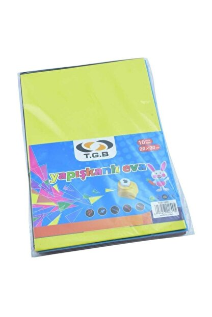 TGB Yapışkanlı Eva Düz 20x30 Cm 10 Renk