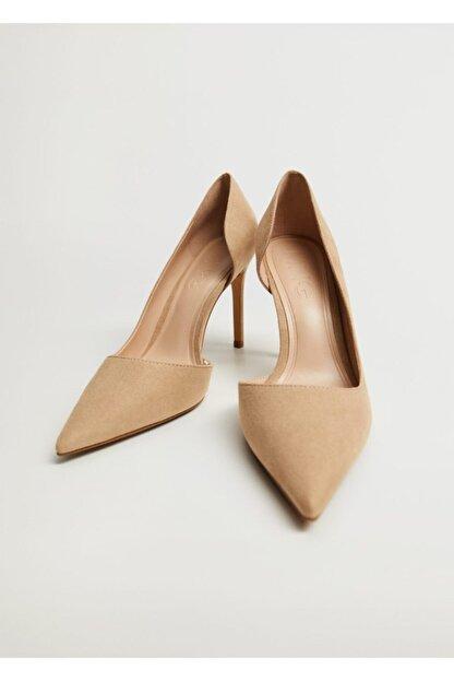Mango Asimetrik Stiletto Ayakkabı