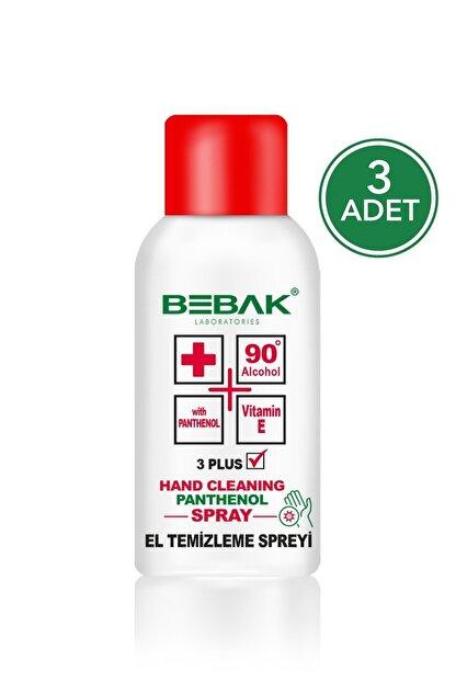Bebak Sprey El Dezenfektanı 150 ml 3 Adet