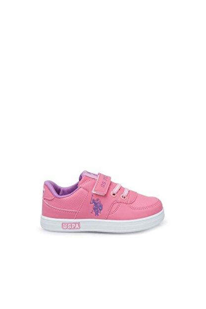 US Polo Assn CAMERON 1FX Pembe Kız Çocuk Sneaker 100909738