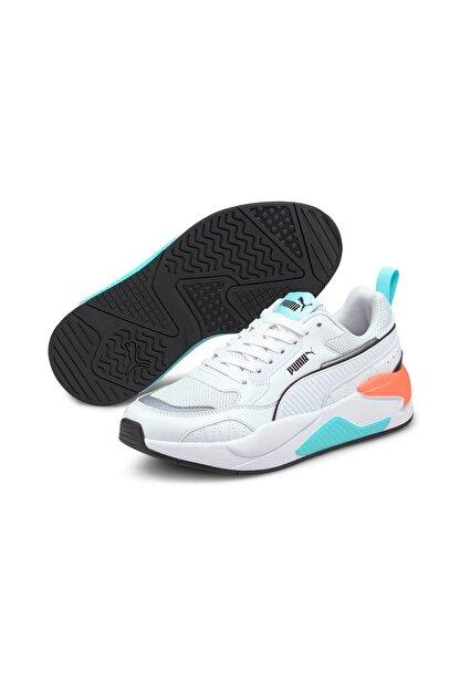 Puma X-RAY 2 SQUARE Beyaz Kadın Sneaker Ayakkabı 101085358