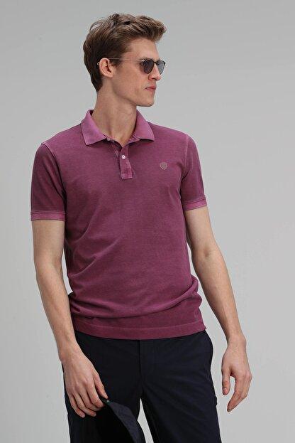 Lufian Vernon Spor Polo T- Shirt Mürdüm
