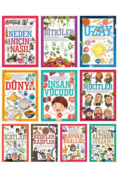 Halk Kitabevi İlk Bilgilerim Kütüphanesi Seti 10 Kitap Takım