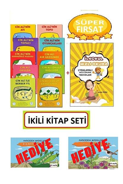Cin Ali Yayınları Cin Ali Hikaye Seti 10 Kitap +1.sınıf Hızlı Okuma Teknikleri Kitabı