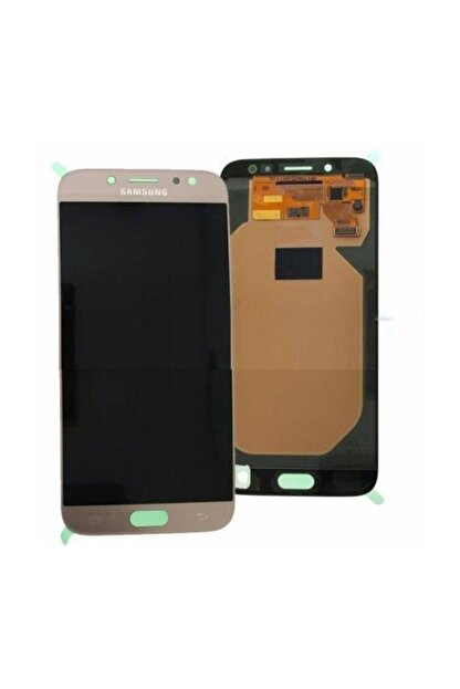 OEM Samsung J7 Pro J730 Lcd Ekran Oled Gold