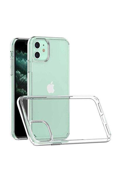 MY MÜRDÜM Iphone 11 Şeffaf Kılıf Kenarları Koruma Çizgili Sararma Yapmaz