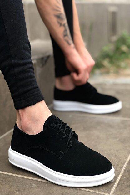 MF MARKA SHOES Unisex Siyah Ortopedik Günlük Ayakkabı