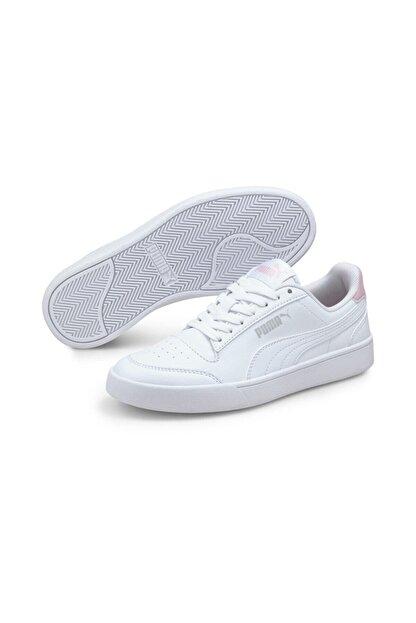 Puma SHUFFLE JR Beyaz Erkek Çocuk Sneaker Ayakkabı 101085497