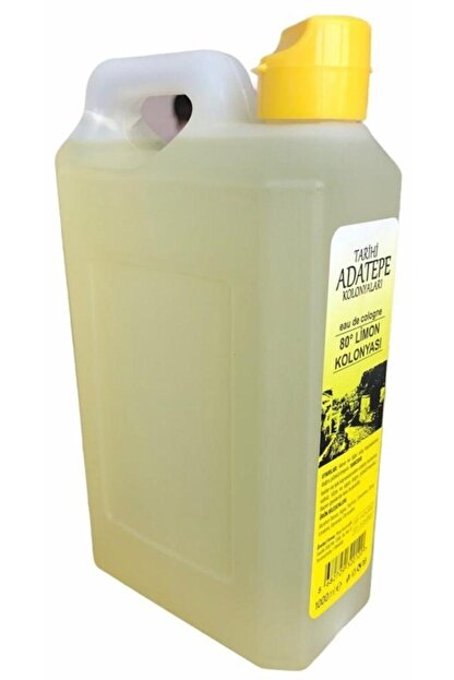 PİEL Adatepe Limon Kolonyası 80 Derece 1000 ml (1 Litre)