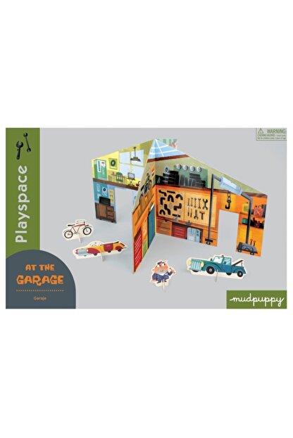 Mudpuppy , 3 Boyutlu Çocuk Oyun Maketi, Garaj In The Garage 4 Yaş Üstü