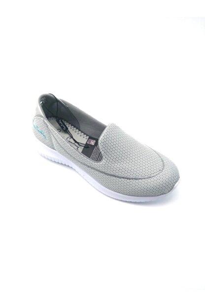 Pierre Cardin Kadın Gri Spor Ayakkabı