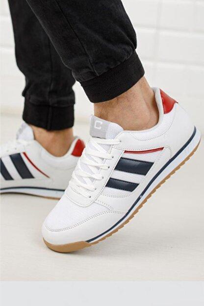 Moda Frato Erkek Beyaz  Sneaker Xstreet 655