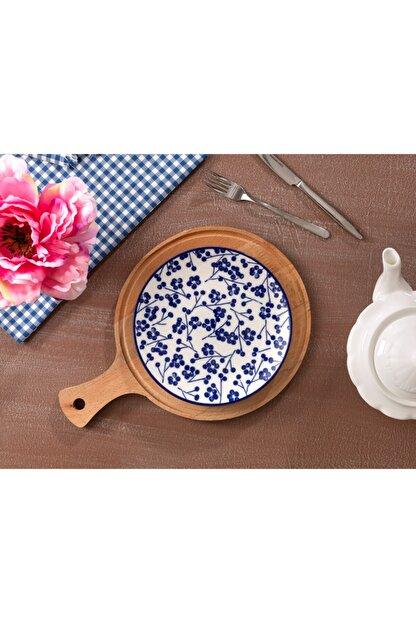 Madame Coco Rêve Bleu Ange Pasta Tabağı - Mavi