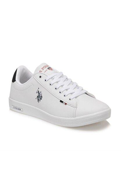 US Polo Assn FRANCO WMN 1FX Beyaz Kadın Sneaker Ayakkabı 100910292