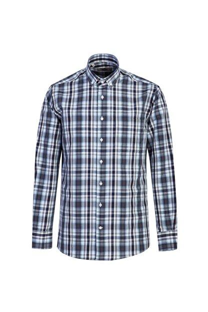 Kiğılı Uzun Kol Regular Fit Ekose Gömlek