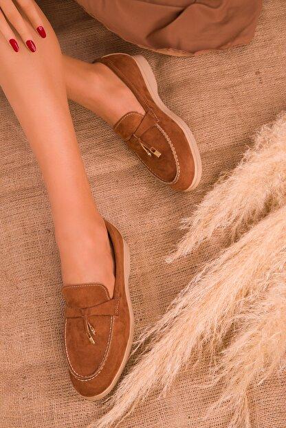Soho Exclusive Taba Süet  Kadın Casual Ayakkabı 16038