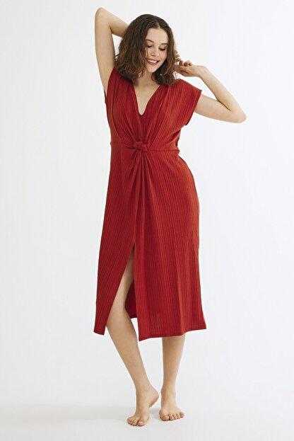 Penti Kadın Turuncu Spargi Elbise