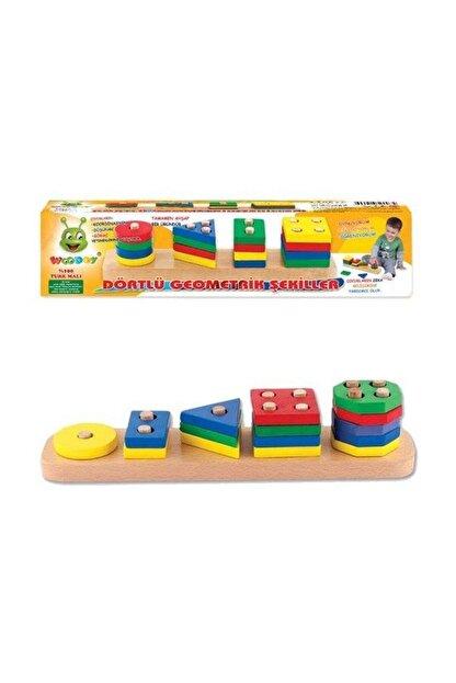 Karsan Oyuncak Oyuncak Woodoy Geometrik Şekiller Kr003
