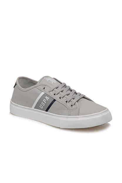 US Polo Assn TRONA Gri Erkek Sneaker 100505027