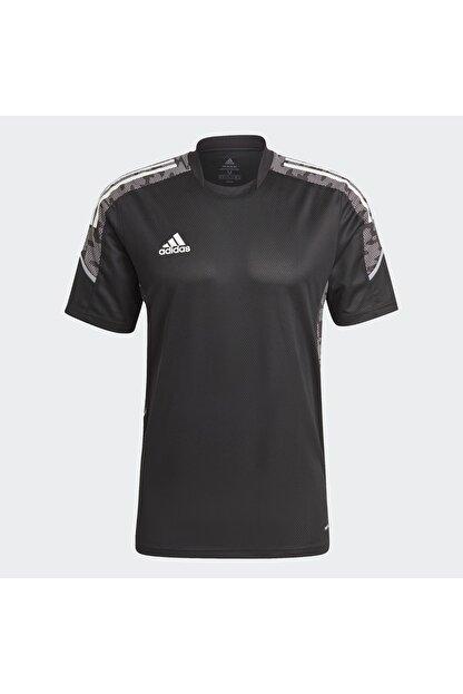 adidas Erkek Siyah T-shirt Gh7167