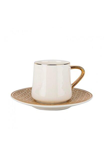 Karaca Ella 6 Kişilik Kahve Fincan Takımı
