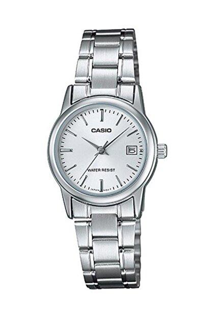 Casio Kadın Kol Saati Ltp-v002d-7audf Çelik Gümüş