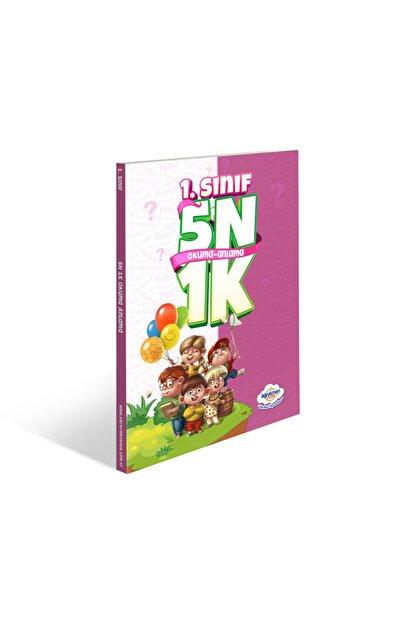 Öğretmen Evde İlkokul Yayınları 1.sınıf 5n1k Okuma Anlama Kitabı - Öğretmen Evde Yayınları