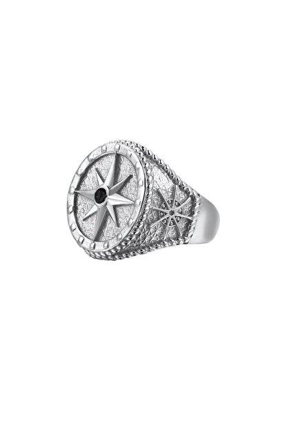 ATOLYESTONE Pusula Yüzük - Gümüş