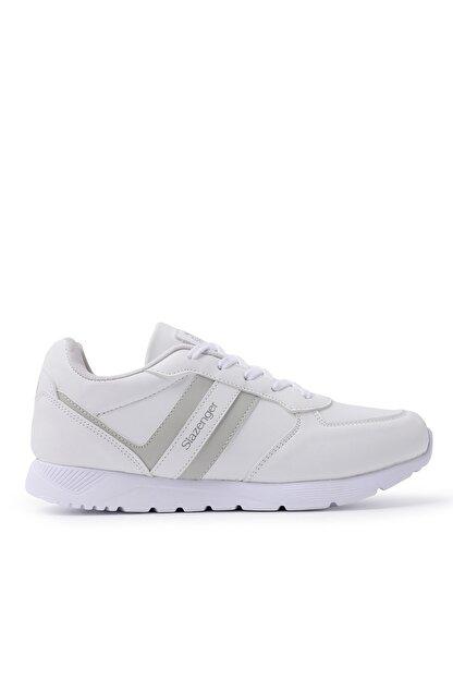 Slazenger ITALIAN Sneaker Kadın Ayakkabı Beyaz SA20RK067