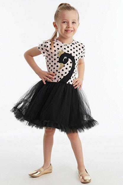 Denokids Siyah Kuğu Kız Tütü Elbise