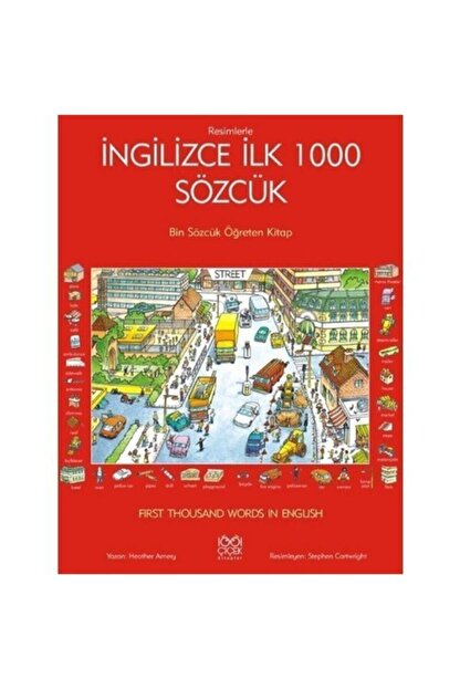 1001 Çiçek Kitaplar Ingilizce Ilk 1000 Sözcük