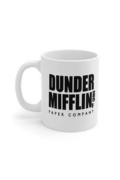 Mugs&Gift The Office Tv Series World's Best Boss Baskılı Kupa Bardak