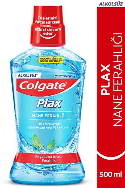 Colgate Plax Nane Ferahlığı Plağa Karşı Alkolsüz Ağız Bakım Suyu 500 ml