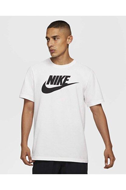 Nike BV0622-100 Sportswear Beyaz Unisex T-shirt