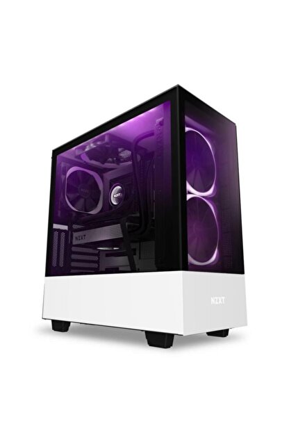 Naztech Nzxt Ca-h510e-w1 The H510 Elite Compact Atx Mid-tower Is Perfect For Your Rgb Build.