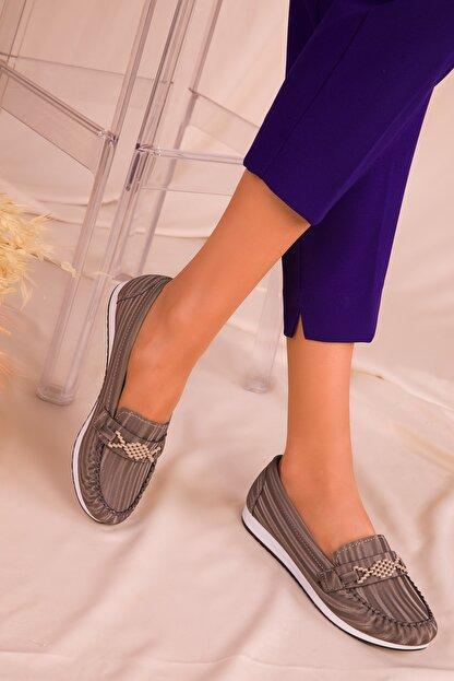 Soho Exclusive Füme Kadın Casual Ayakkabı 16063