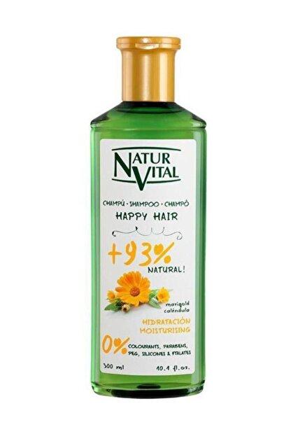 Natur Vital Happy Hair Moistrizing 300 Ml.