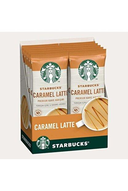 Starbucks Caramel Latte 10 Adet  10x21,5 gr 215 gr